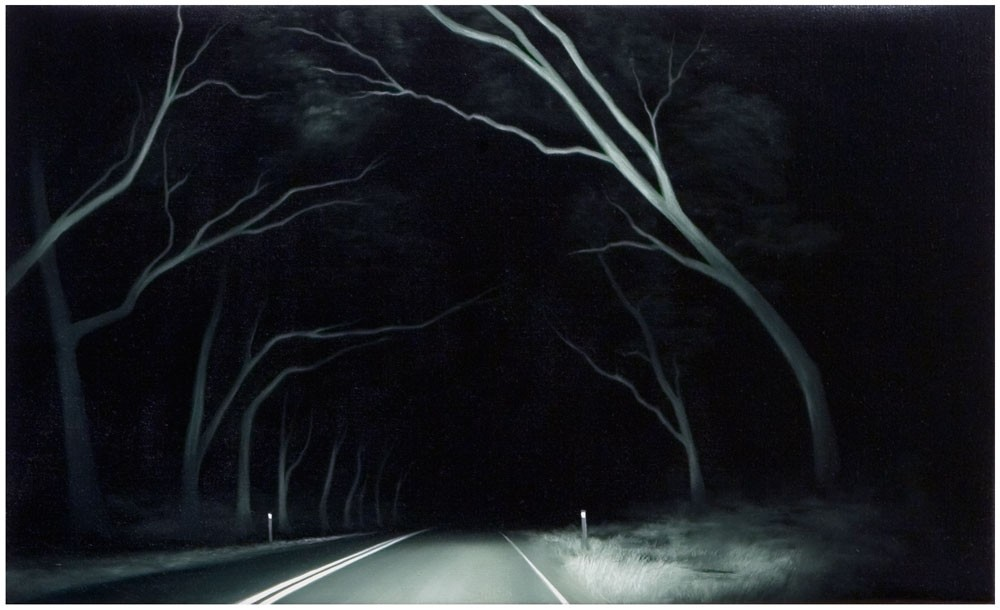 Dark road by Tony Lloyd