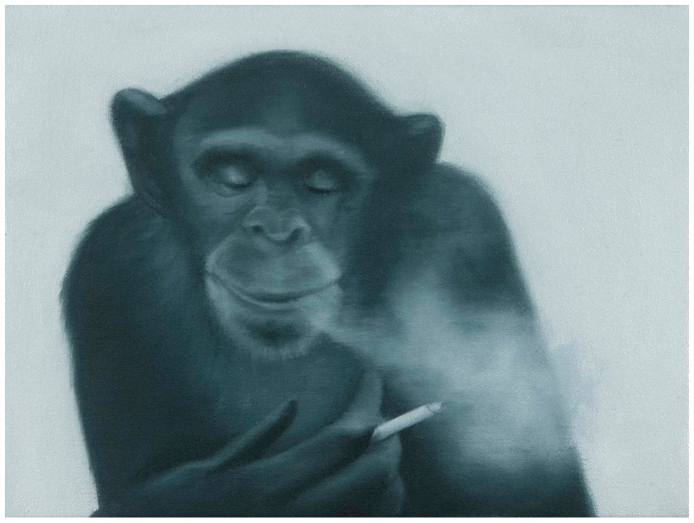 A short history of lost time (smoking chimp) by Tony Lloyd